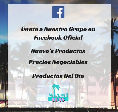 Únete a nuestro grupo en Facebook Oficial